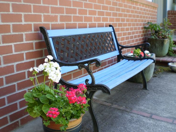 Bench Painting Ideas Part - 21: Hmm, I Have A Bench To Restore. Maybe It Will Be Red.