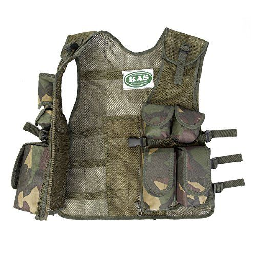 cool Kids Army Camouflage Assault Vest - Fits Ages 5-14
