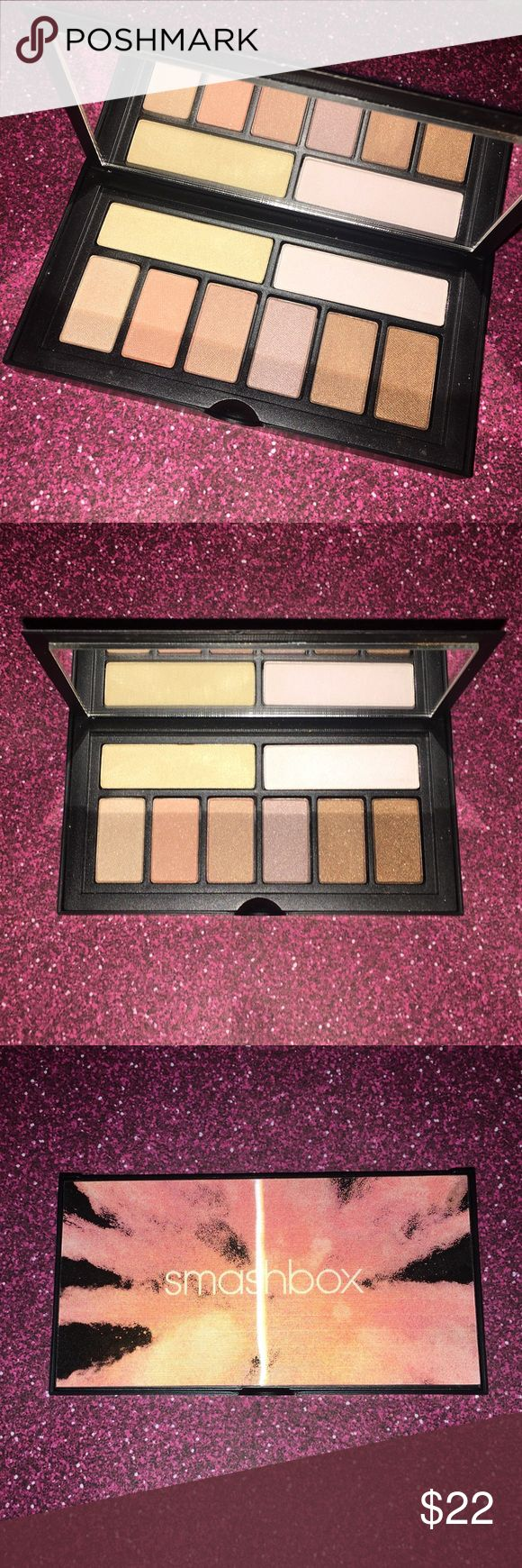 Smashbox cover shot: soft palette Smashbox eyeshadow palette Nice travel size  Cool packaging Nice, light colors Smashbox Makeup Eyeshadow