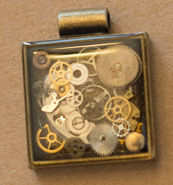 Vintage Watch Part Necklace For Paula by KindCreationsCoOp on Etsy  https://www.etsy.com/shop/KindCreationsCoOp