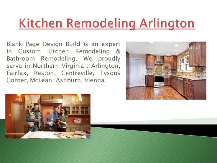 Kitchen remodeling arlington