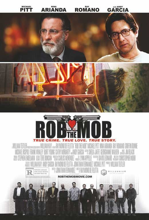 Rob the Mob 11x17 Movie Poster (2014)