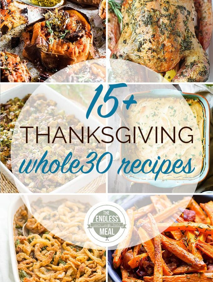 The 15 Best Whole30 Thanksgiving Recipes Healthy
