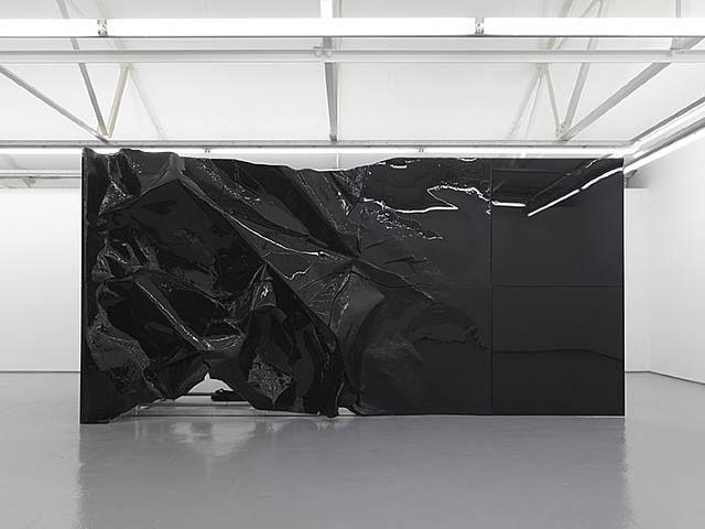 artnet Galleries: As yet untitled (broken screen) by Banks Violette from Maureen Paley