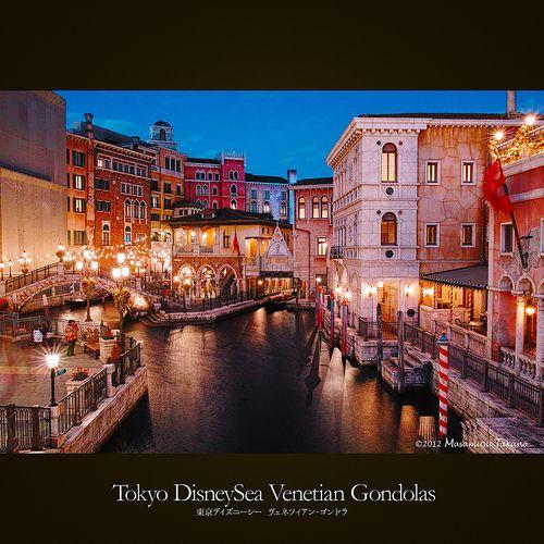 Tokyo DisneySea Venetian Gondolas |