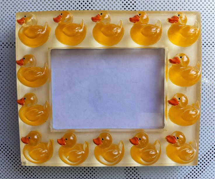 Really Cute and UNIQUE Ducklings Photo Frame. GAN. Authentic and Charming.