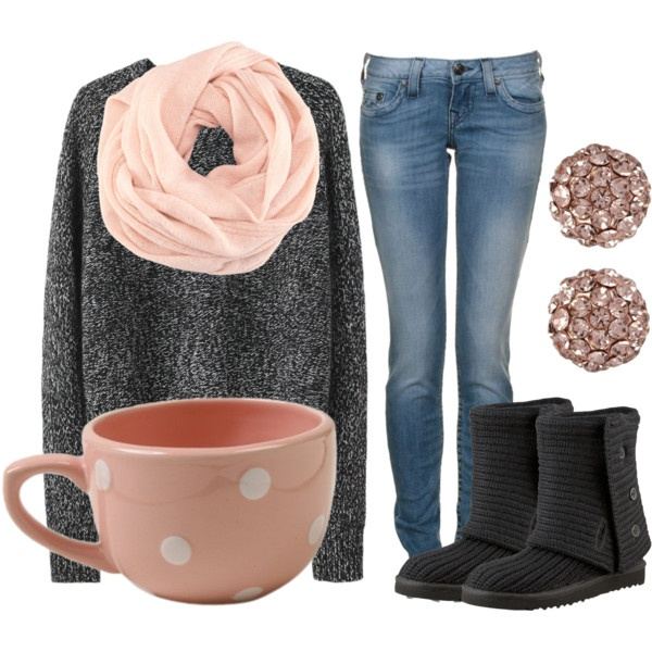 So cute...and cozy!: Fashion, Style, Clothes, Dream Closet, Winter Outfits, Fall Outfit, Scarf, Fall Winter