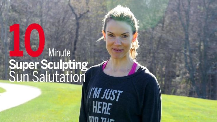 There's no better yoga in the a.m. than Surya Namaskara, also know as sun salutation. In this video, Kristin McGee flows through a super sculpting 10-minute sun salutation that will kickstart your morning faster than a cup of joe! | Health.com
