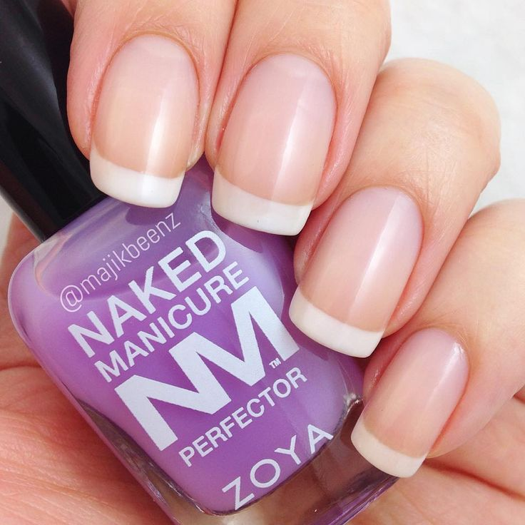 Kind of in love with this stuff. Zoya Naked Manicure - instantly transform your natural nails with a your nails but better look!