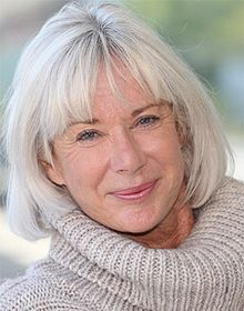 The neckline is soft and flattering  over 50 hairstyless  Grey hair Silver grey hair Silver