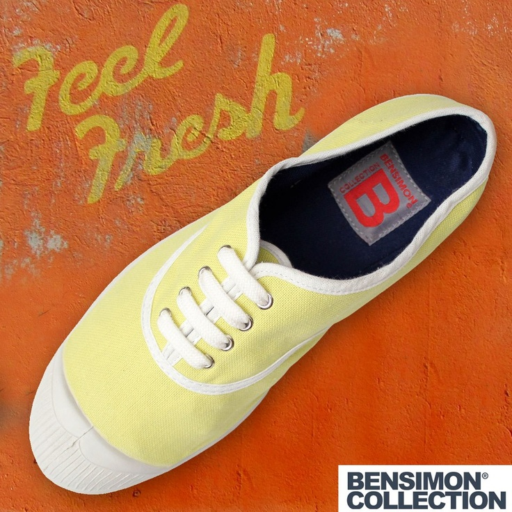 Mellow Yellow today! Bensimon Greece