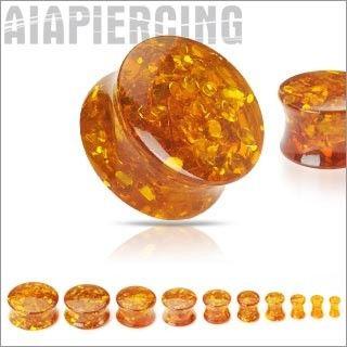 AMBRE SYNTHÉTIQUE http://www.aiapiercing.com/piercing-ecarteur/organique/resine-ambre-4mm-au-25mm Découvrez plus de choix d'écarteurs, plugs et tunnels sur http://www.aiapiercing.com/piercing-ecarteur #plug #ecarteur #ambre #piercing