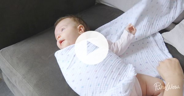 How to Swaddle a Baby via @PureWow
