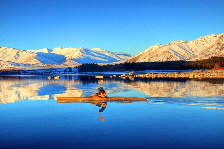 Rafting am Tekapo See