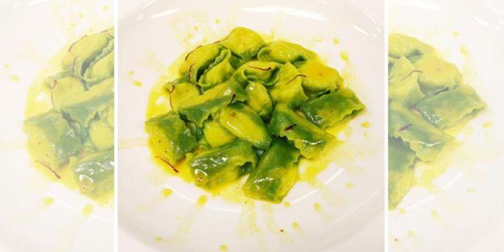 Raviolo verde - Ricetta dello Chef Fulvio Siccardi