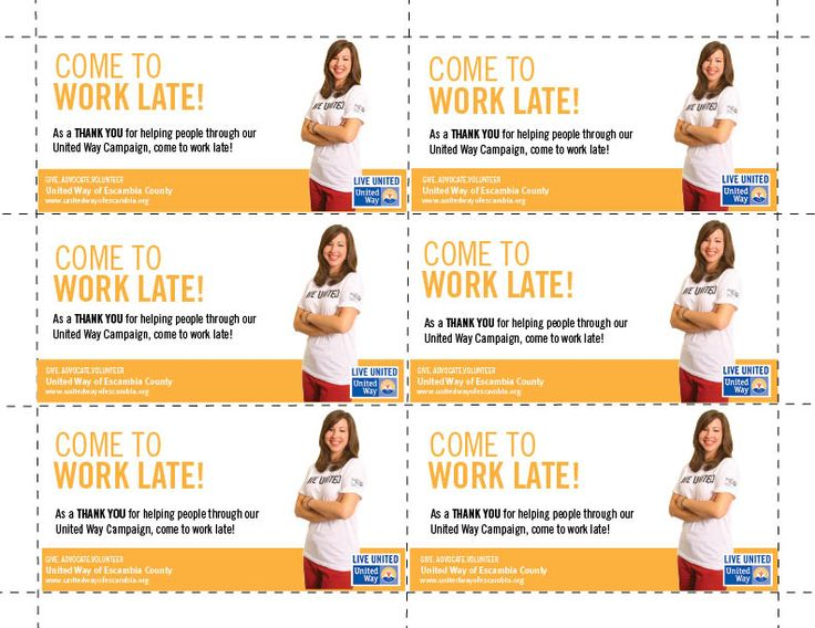 incentive coupons for businesses to hand out to their employees that help with their workplace campaign campaign ideasemployee