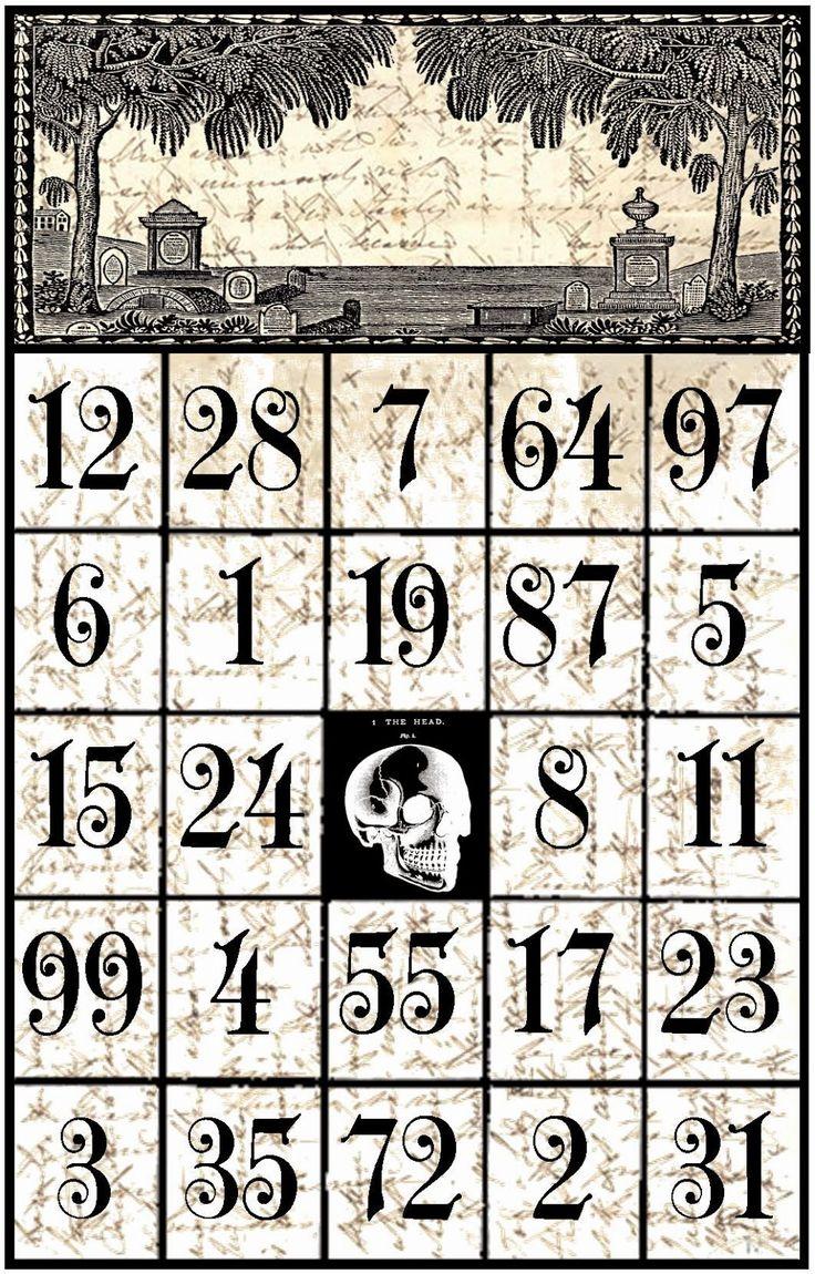 226 best Printable BINGO Madness images on Pinterest | Bingo games ...