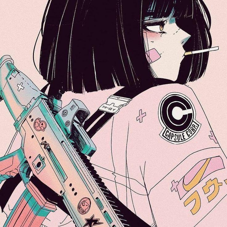 "Instagram Alleine auf Instagram: ""💜 (Vera Klose.art) .. #Animeaesthetic #anime …"