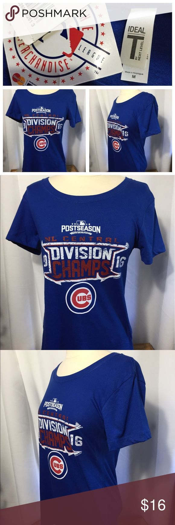Design your own t shirt chicago - Women Chicago Cubs T Shirt Size M New Tops Tees Short Sleeve
