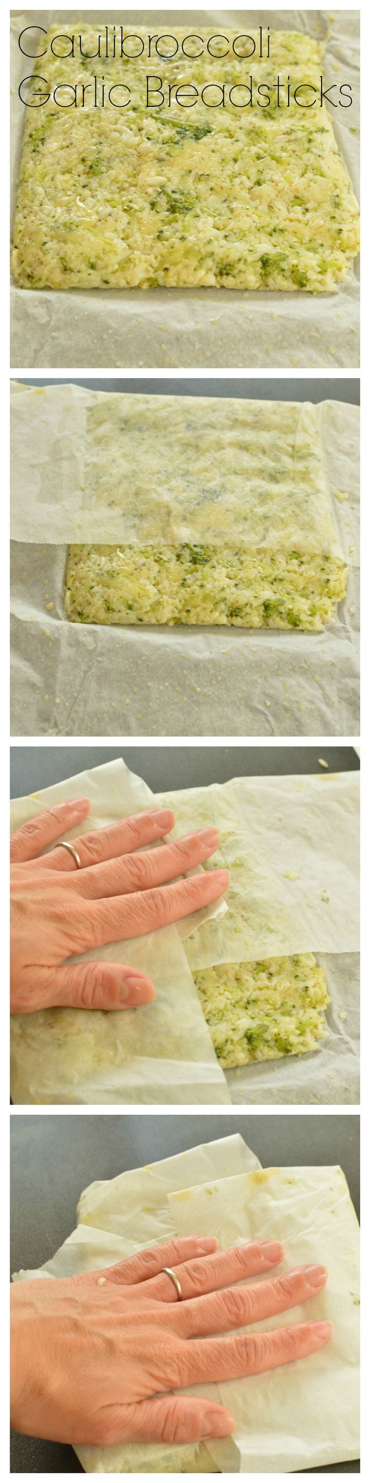 Cheesy CauliBroccoli Garlic Breadsticks #lowcarbbread #lowcarbdiet