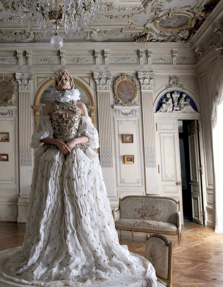 Nadja Bender in Alexander McQueen by Camilla Akrans Vogue Nippon November 2013 ♥