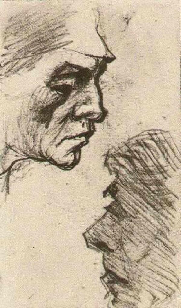 Sorrow - Vincent van Gogh - WikiArt.org