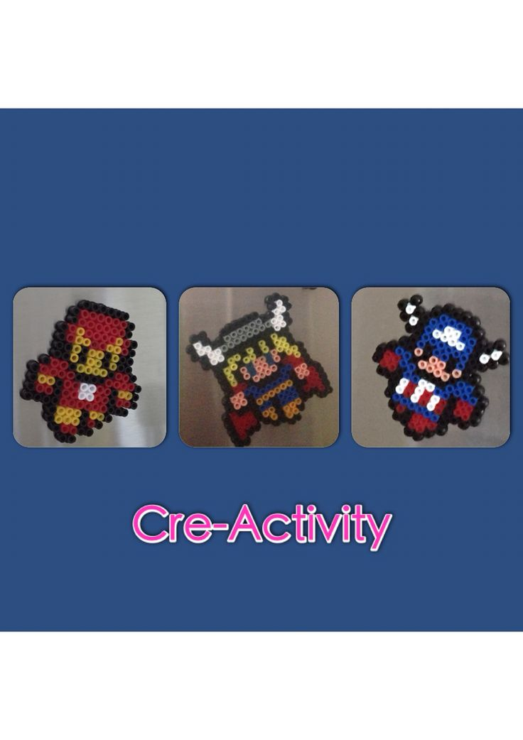 Avengers hama beads