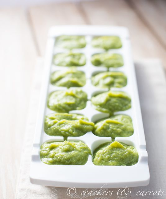 How to make broccoli baby food-7