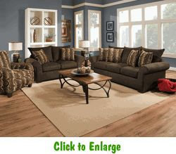Banner Bark Sofa By Corinthian At Furniture Warehouse | The $399 Sofa Store  | Nashville,