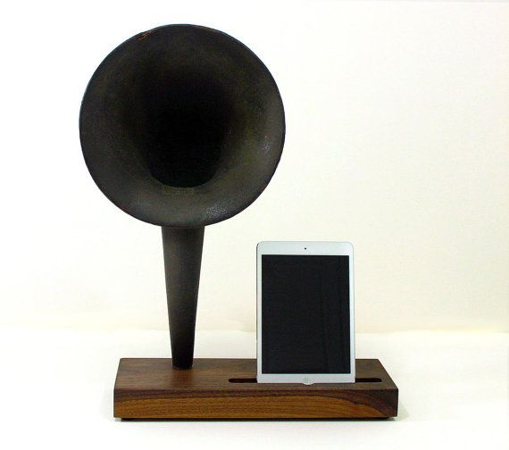 iHorn  iPad  iPad mini  iPhone  Acoustic  Speaker by woodguy32, $399.00