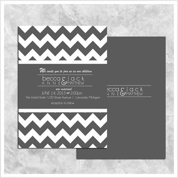Hey, I found this really awesome Etsy listing at https://www.etsy.com/listing/174885391/chevron-wedding-invitation