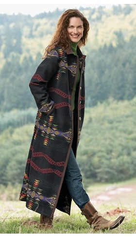 Duster coat.  Yes, this is very nice.  Mama like.