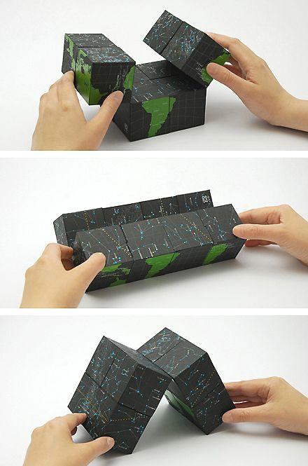 "Polyhedral ""magic"" box"