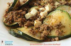 Griechischer Zucchini-Auflauf Low carb Rezepte