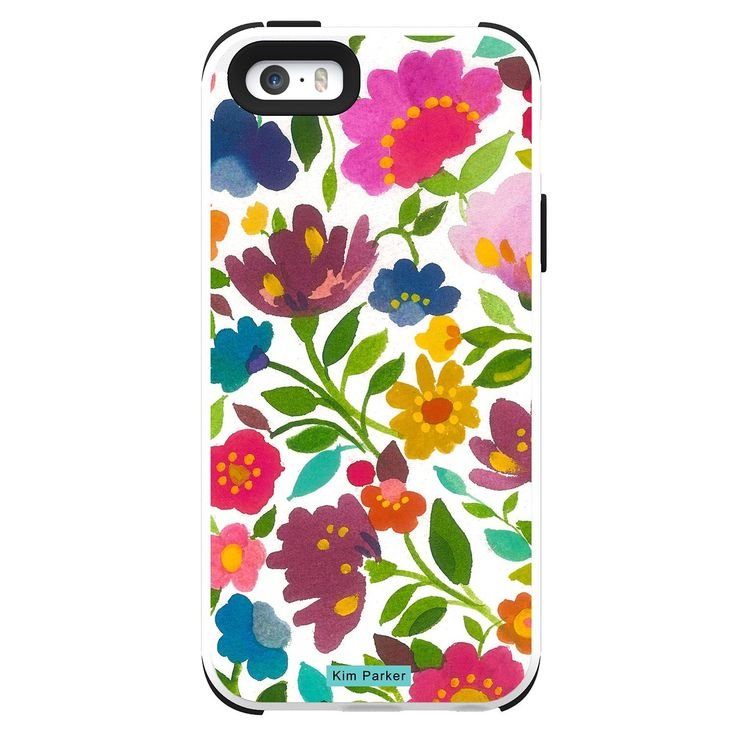 Trident Case Cell Phone Case for iPhone 5/5s - Retail Packaging - Flower. Meets Military Standard MIL-STD-810F: vibration and drop (Independently Tested) with style. Inner-layer of shock-absorbing silicone with an outer-layer of hardened polycarbonate, providing two layers of protection. Power-ports and audio-jacks are covered with silicone plugs to keep out dirt and debris. Dust filters protect microphone and speaker bays. Green Protection - recyclable, degradable, and compostable…