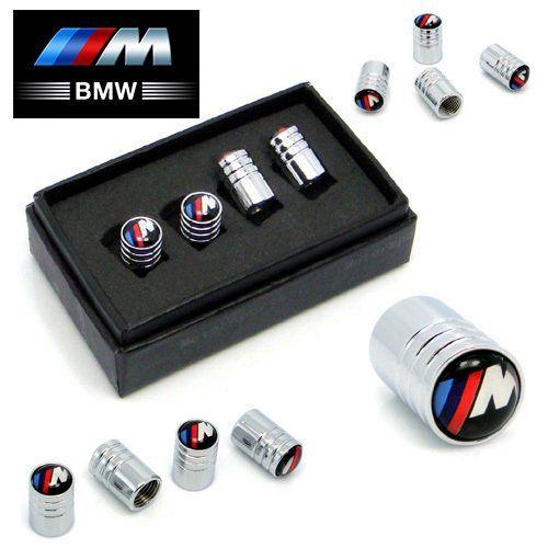BMW M-Sport Deluxe Chrome Wheel Valve Dust Caps. M3 M5 330C 325i: Amazon.co.uk: Car & Motorbike