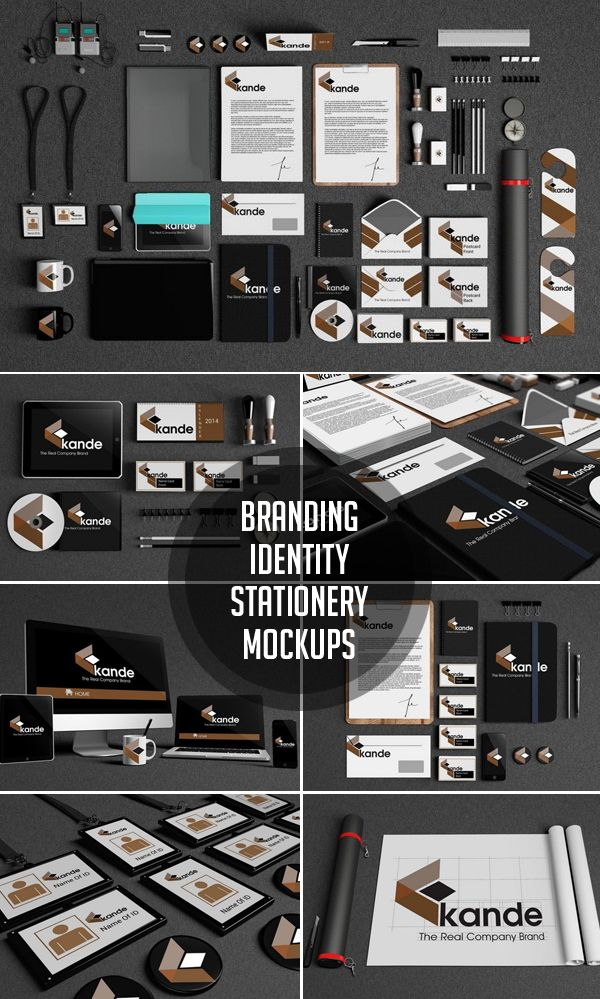 Branding / Identity / Stationery Mockups psd mockups, product mockups, presentation mockups, mockup templates