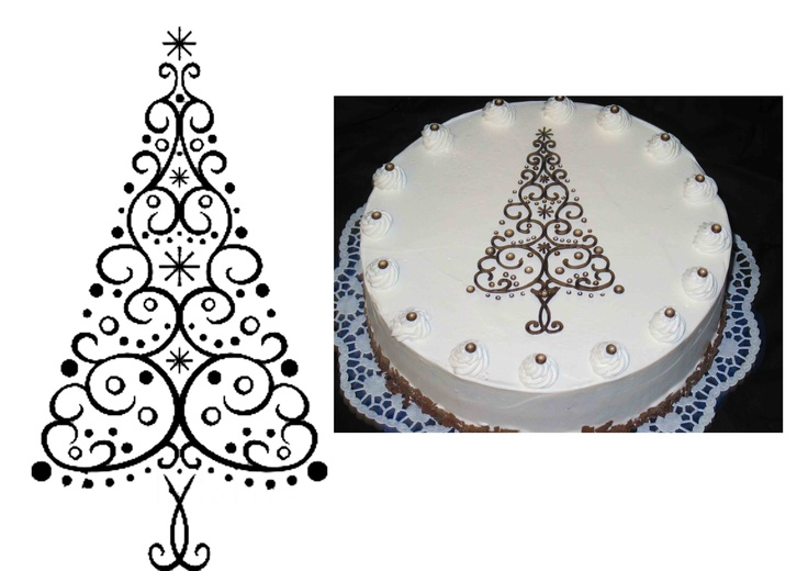 chocolate lace template - 17 best images about cake patterns on pinterest cake