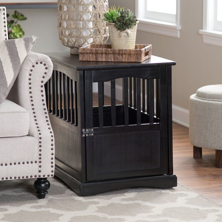 25 best ideas about cat crate on pinterest dog crate for Sofa table dog crate