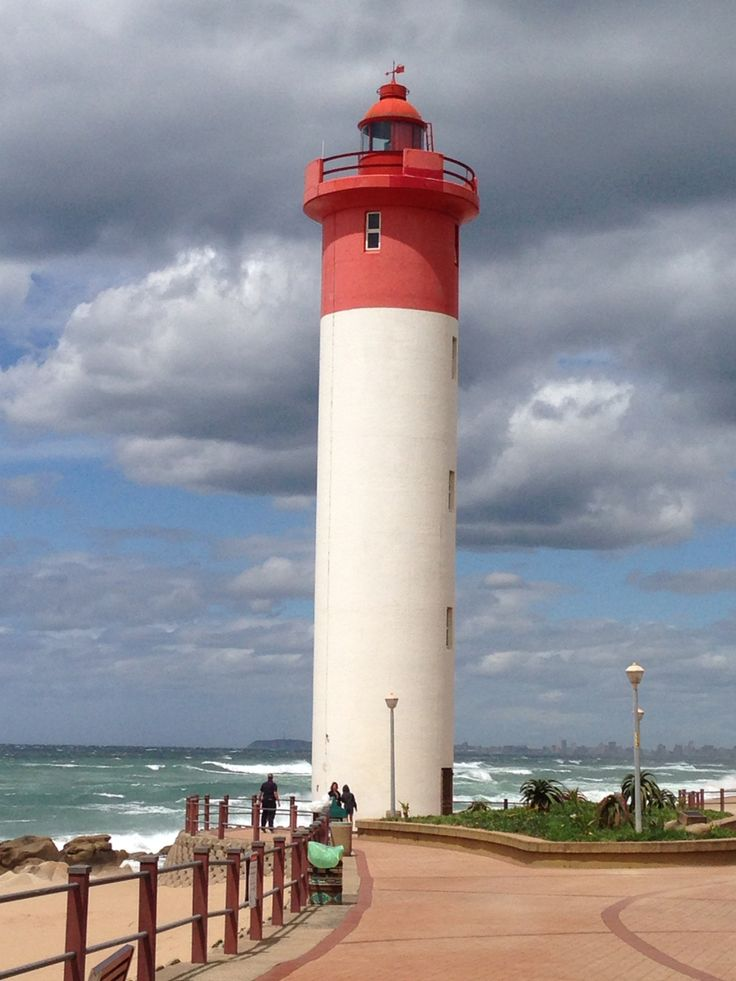 A beautiful lighthouse of the South Coast in South Africa