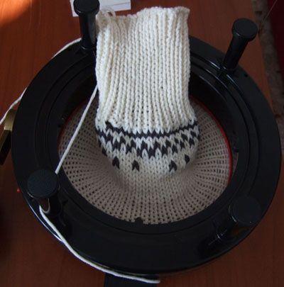 Addi Express o Prym Maxi - tutorial Cappuccio con lavorazione maglia jacquard e ricamo jacquard |Chiocciolina creativa - costruisci il mondo con le tue mani