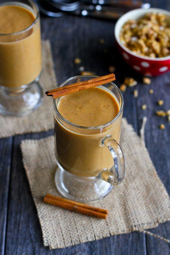 Healthy Pumpkin Coffee Smoothie Recipe | Cookin Canuck