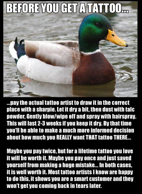Test-Drive Your Tattoo First ^If (BIG if) I ever get a tattoo, this is a must!