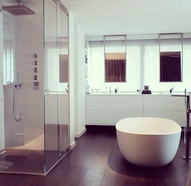 badkamer donkere vloer