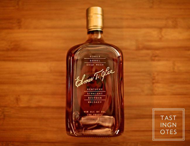 Elmer T. Lee Bourbon. #Bourbon #alcohol #spirits #liquor