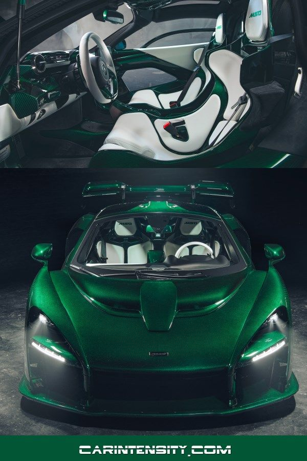 Mclaren Senna In Emerald Green Watch High Performance Sports Car Supercar And Hypercar Videos At Car Intensity See Diecast Model Cars For Sale Mclaren