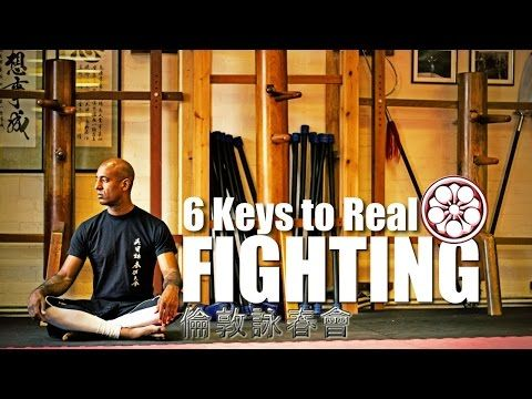TOP 6 SKILLS for Fighting BETTER | Old School Wing Chun Training 1992 - YouTube