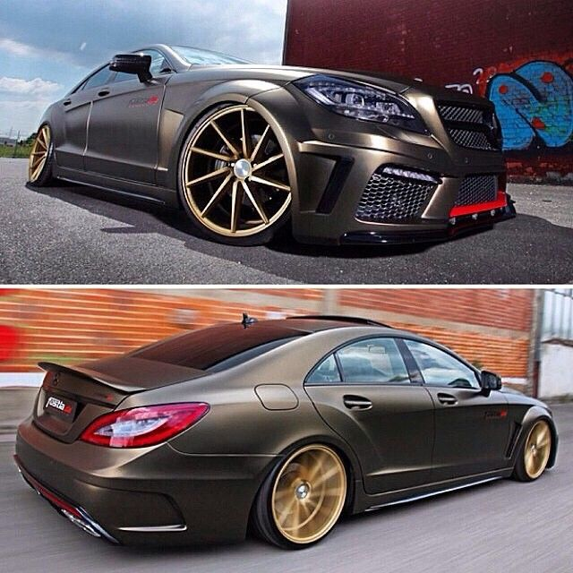 Mercedes  Benz  CLS 350 CDI by  Fostla