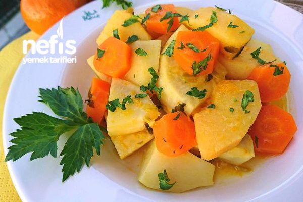 Ayvalı Portakallı Mandalinalı Kereviz Yemeği