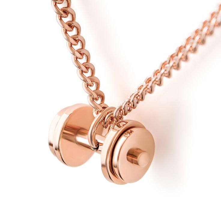 triple ebay pendant necklace selection gold product plated fit plate dumbbell